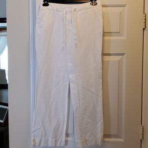 J. Crew linen/cotton pants